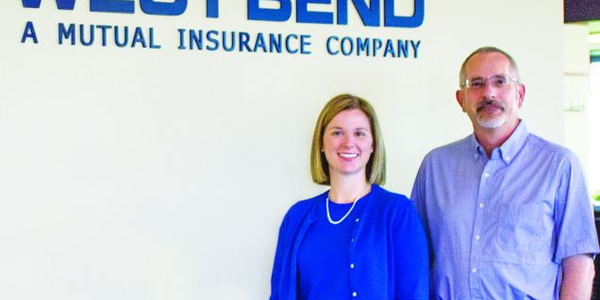 West Bend Mutual Insurance Company's Heather Dunn, assistant vice president, corporate...