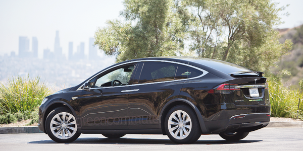 Photo of Tesla Model X SUV courtesy of Green Commuter.