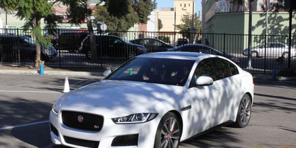 The 2017 Jaguar XE. Photo: Paul Clinton