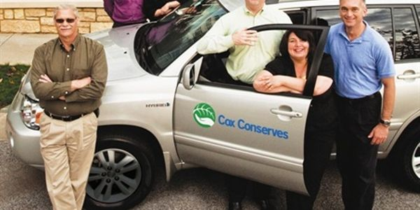 Bill Gooden, vehicle specialist; Roger Turner, fleet acquisition manager; Kim Gheesling, support...