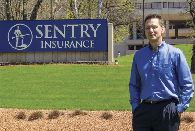 Steven Anderson, CAFM, fleet manager for Sentry Insurance
