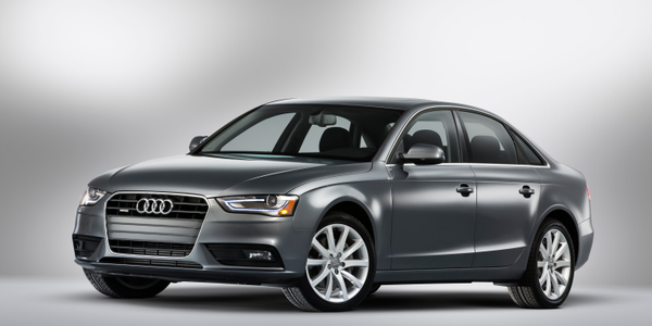 Photo of 2015 A4 courtesy of Audi.