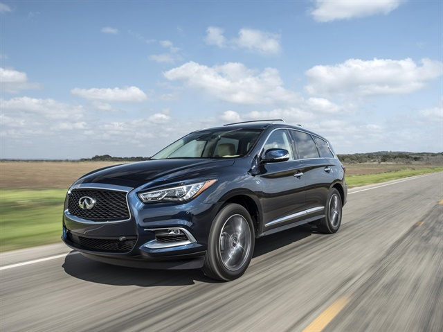 Photo of the QX60 courtesy of Infiniti.