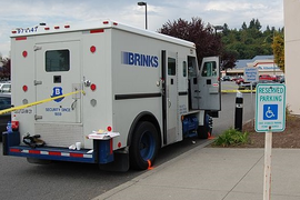 Brinks to Integrate Dunbar Fleet After Merger