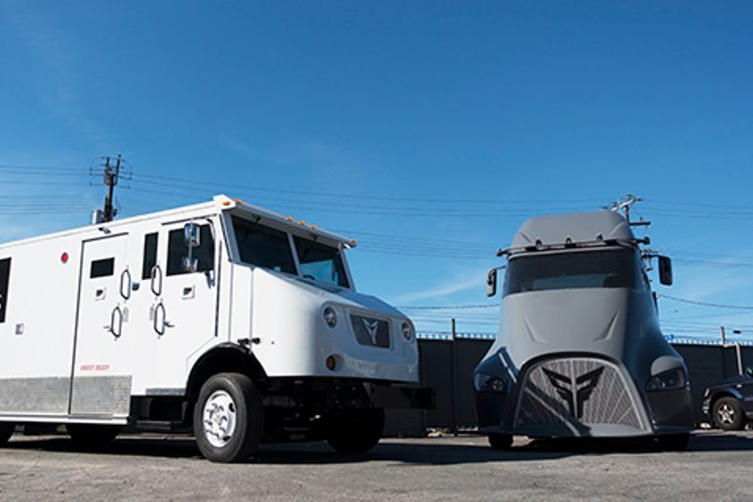 XOS first produced the prototype fully electric semi called the ET-One (right) but is now...