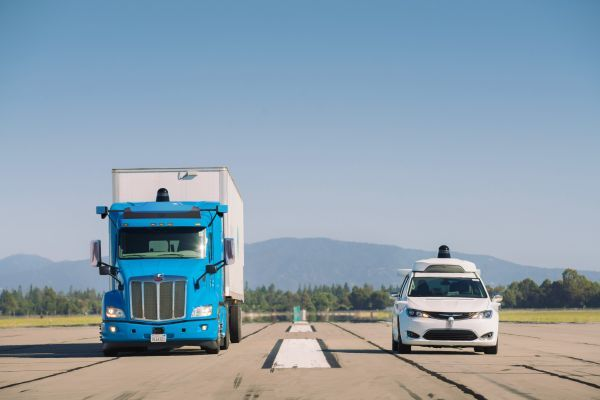 Waymo divides its autonomous initiatives into two divisions: Waymo Via, focused on goods delivery in both trucking and local delivery formats, and Waymo One, its consumer ride-hailing service. - Photo courtesy of Waymo.