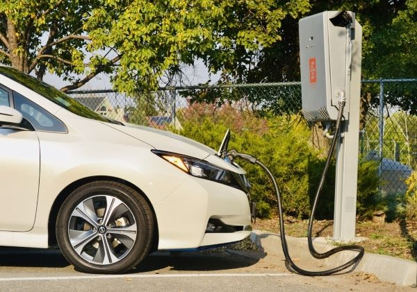 Bi-directional chargers, like this one from Fermata Energy, charge an electric vehicle normally, and are also able take the DC energy stored in an EV battery and convert it back AC energy to send back to a building or the grid. - Photo courtesy of Fermata Energy.