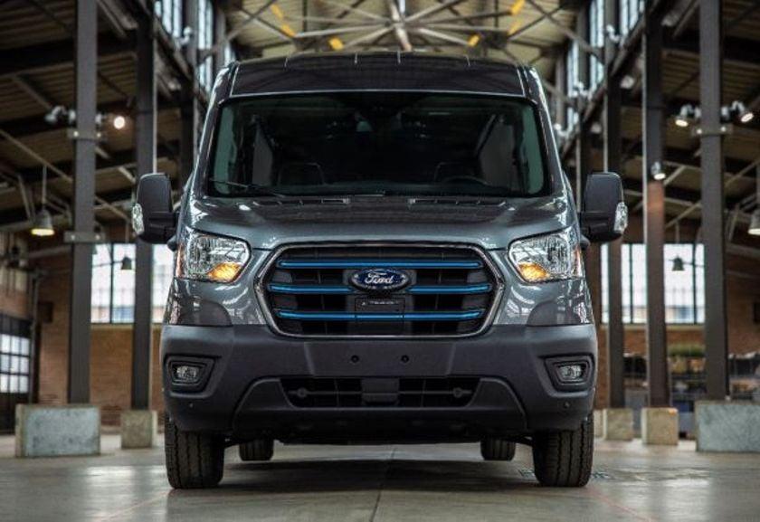 The Ford E-Transit hasa maximum published range of 126 miles.