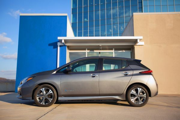 In Vincentric's analysis, the 2021 Nissan Leaf placed first in TCO after five years of operation and 100,000 miles.  - Photo courtesy of Nissan.