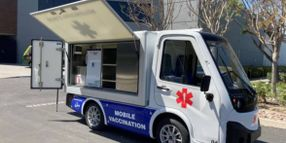This New Electric Mobile Vaccination Unit is Gaining Importance