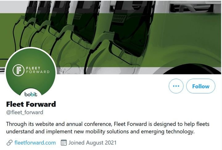 Check out the new Twitter page to stay abreast of the hottest topics and trends for fleets. -