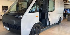Arrival Shows Off New Electric Van