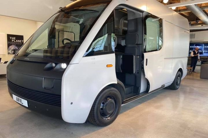 Arrival provided a tour of its new electric van in Los Angeles. -