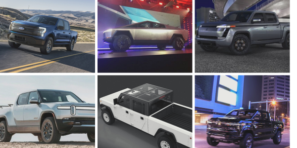 Many automakers are jumping on the EV bandwagon for pickups coming soon to the market. Karl...