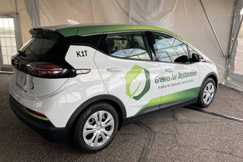 The Chevrolet Bolt EUV is new for the 2022 model year. The Bolt EUV has increased rear legroom...