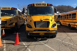 Electric School Buses Power Up Savings, Efficiency