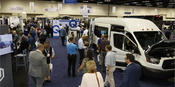 The BusCon show floor featured all of the latest vehicles, technologies, and products available...