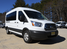 Merchants Fleet CampusShare college clients use passenger vans such as the Ford Transit.