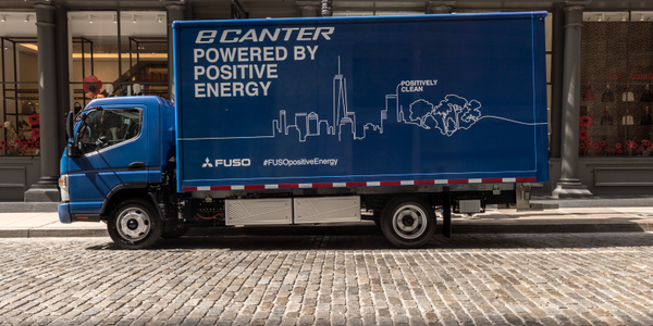 Penske Truck leasing has taken delivery of four Fuso eCanter battery-electric work trucks, the...