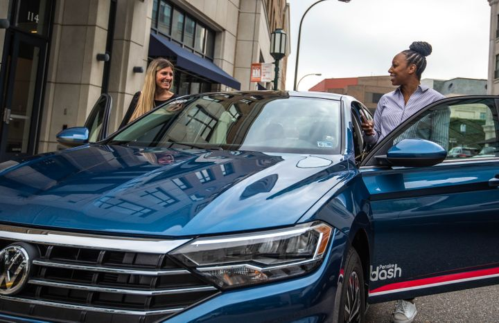 Penske Dash carsharing service launched last week in Washington, D.C. and Arlington, Va.  - Photo courtesy of Penske.