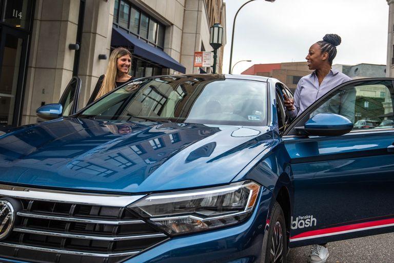 Penske Dash carsharing service launched last week in Washington, D.C. and Arlington, Va.