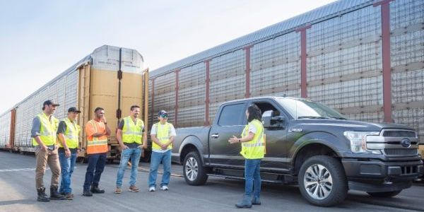 Ford showed the capability of a prototype all-electric F-150 last year by towing 10...