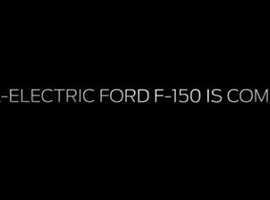 Screen capture from Ford YouTube video on all-electric F-150.