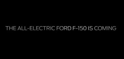 Screen capture from Ford YouTube video on all-electric F-150.  -
