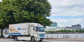 Food Distributor Begins Fleet Testing of Mercedes Electric Truck
