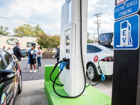 First Gas Station to Convert to Fully Electric Charging Opens in Maryland