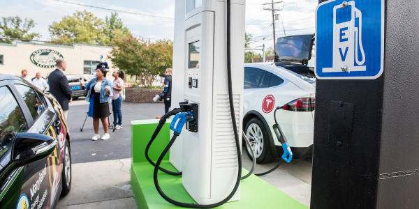 RS Automotive is the first fully converted gas-to-electric refueling station in the U.S.