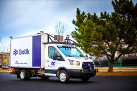 Gatik's Autonomous Box Truck Serves the Middle Mile