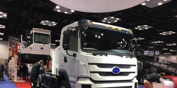 By 2035, zero-emission truck/chassis sales would need to be 40% of truck tractor sales, which...