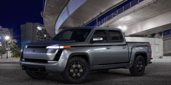The Lordstown Endurance all-electric pickup truck has fewer moving parts and a 75 MPG...