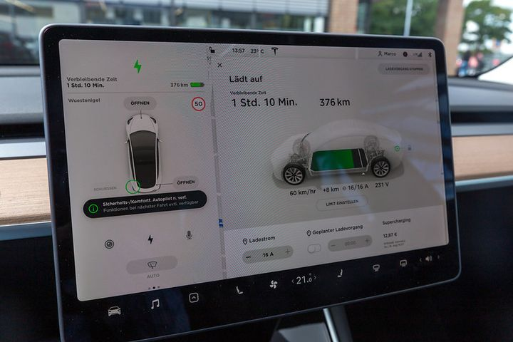 Tesla's app allows other Tesla ownersaccess to their own profiles in a shared Tesla. - Photo via Flickr/Marco Verch.