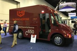 CARB Certifies Workhorse C-Series Electric Delivery Truck