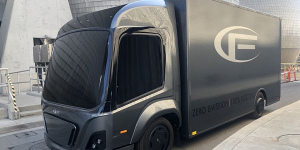 The CF1 is an electric Class 3 truck for last mile logistics and has a unique modular concept...