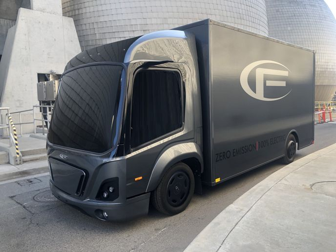 The CF1 is an electric Class 3 truck for last mile logistics and has a unique modular concept which will decrease development costs and time-to-market significantly.