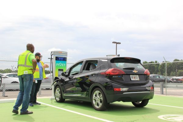 The facility will also be accessed by other fleets and OEMs on Atlanta's south side, which is presently underserved with EV infrastructure. - Photo courtesy of Cox Automotive.