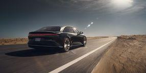 Luxury EV Model Achieves 517 Miles on Single Charge