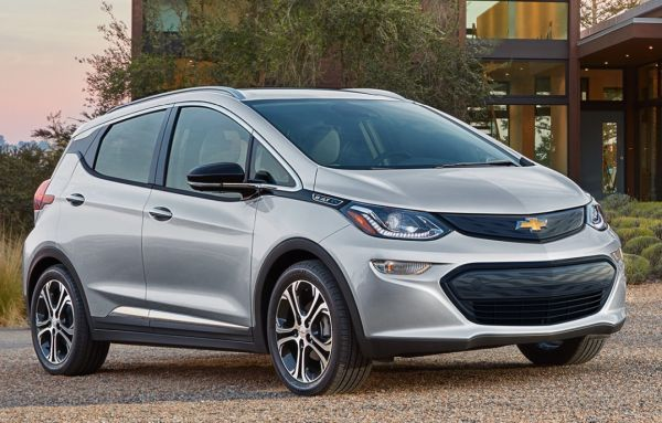 At first glance, it isn't easy to imagine work van functionality in the back of the 2020 Chevy Bolt. However, the Rear Seat Delete Package extends total cargo space to 66 cu.-ft., more than a Chevy Equinox. - Photo via Chevy.