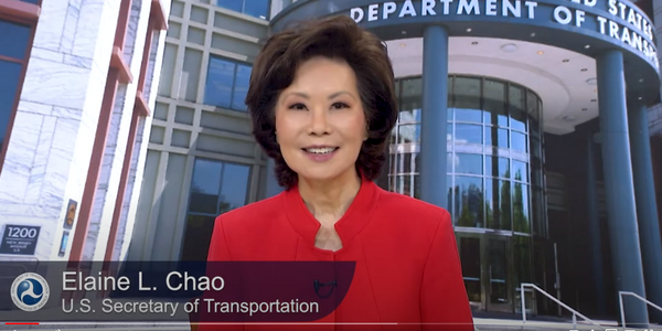 U.S. Department of Transportation Secretary Elaine L. Chao announced the initiative on...