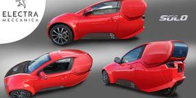 ElectraMeccanica Produces Fleet, Utility Version of SOLO EV