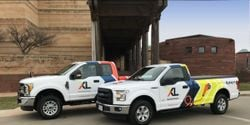 XL was the first member of Ford's e-QVM program in 2017. Its systems are currently available on Ford F-150 and F-250 (pictured), Ford E-350 and E-450, Ford Transit, Ford F-59 Super Duty, Chevrolet Express and GMC Savana, Chevrolet and GMC 3500 and 4500.