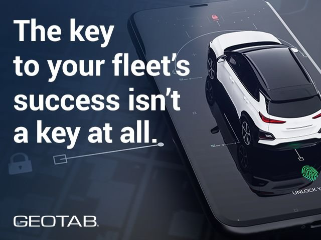 Geotab has established partnerships for Geotab Keyless with mobility technology companies Wunder Mobility, Ridecell, fleetster, Eccocar, and Moove Connected Mobility. - Image courtesy of Geotab.