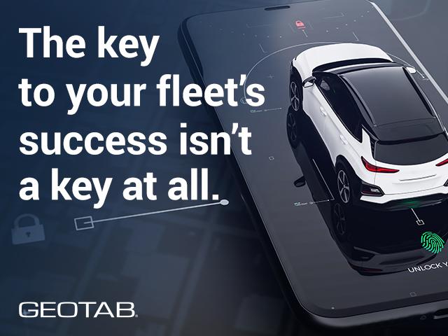 Geotab Keyless Paves Way for Fleet Vehicle Sharing