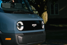Amazon Reveals Rivian's Electric Delivery Vehicle Prototype