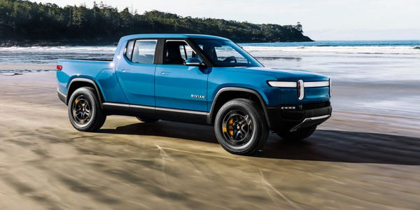The R1T is available for preorder for $1,000. Rivian will begin delivering vehicles in June 2021.