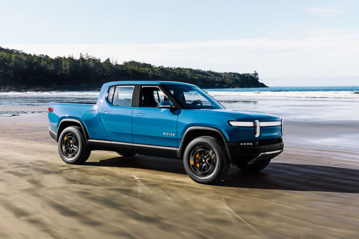 The R1T is available for preorder for $1,000. Rivian will begin delivering vehicles in June 2021. - Photo via Rivian.