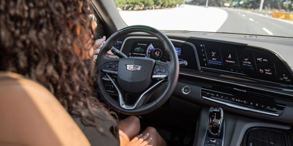 Cadillac's Super Cruise uses direct driver monitoring to warn drivers that appear to have...
